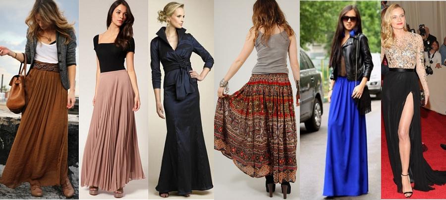 Do czego nosić długą spódnicę?